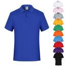 TOPTIE Men's Regular-fit Asian Size Cotton Polo Shirt Short Sleeve Knit Top Basic Golf Tee