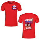 Personalized Moisture-wicking Dry Fit Lightweight T-Shirts Athletic Tee Shirt(S-XXXL)