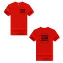 Personalized Men's Crew Cotton T-Shirt Short-Sleeve Adult Tee