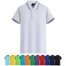 TOPTIE Men's Asian size Regular-fit Short Sleeve Polo Shirt Quick-Dry Knit Golf Tee Top for Sports