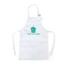 Opromo Custom Imprint Cotton Canvas Kids Aprons with Pocket - Pack of 5