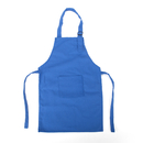 (Price/12 PCS) Opromo Colorful Cotton Canvas Kids Aprons with Pocket, Artist Apron & Chef Apron(S-XXL)