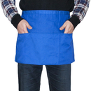 Blank Heavyweight Cotton Polyester Commercial Restaurant Kitchen Waist Apron, 24