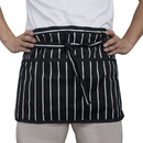 Opromo Waist Chef Apron with Pockets, 24 x12 inches Restaurant Half Aprons
