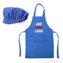 Opromo Custom Kid Apron and Hat Set, Peronalized Child Apron (S-XXL)