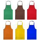 Opromo 2-Pack Standard Bib Apron with Two Pockets, 23.5
