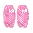 Opromo Women's Cotton Oversleeves with Bowknot