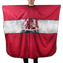 Barbers Hair Cutting Cape Gown with Rectangular Viewing Window, 63
