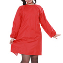 Opromo Womens' Long Sleeved Waterproof Apron Smock with One Front Pocket