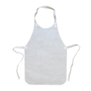 Aspire White Non Woven Disposable Apron, 16 1/2