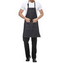 Opromo Durable Cotton Denim Apron w/3 Pockets for Men and Women, 30.5 X 24.5 inches