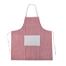 Stripe Cotton Canvas Aprons With Pocket, 31.5 x27.6 inches