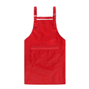 Opromo Unisex Adjustable Waterproof Polyester/Cotton Apron with 3 Pockets,27.5 x 29.5 inches