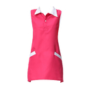 Opromo Sleeveless Uniform Apron for Hair/Nail Beauty Salon, With Two Pockets