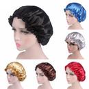 Satin Bonnet Night Sleep Cap Hair-Dyeing Hat Cosmetic Cap for Women and Girls