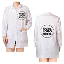 Custom Designed Your Logo Beauty Salon Robes Client Gown Protection Unisex,