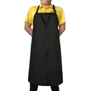 Opromo 32 x 38 inches Oversized Apron with Three Roomy Pockets and Extra Long Straps