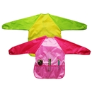 Opromo 2 Pack Kids Art Smocks,3 Pockets Long Sleeve(SML,Age 2-10 Years)