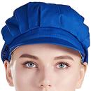Opromo Unisex Cotton Mesh Chef Hat Adult Adjustable Elastic Working Restaurant Kitchen Chef Cap
