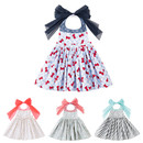 Opromo Colorful Cotton Cute Lovely Baby Kids Aprons, Waterproof Dress Apron for Children, Party Favors
