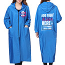 Personalized Custom Unisex Polyester Waterproof Apron with Hood Adult Art Smock