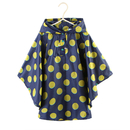 Opromo Kids Rain Poncho Lightweight Toddler Hooded Backpack Raincoat S-XL for Age 4-12