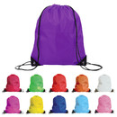 Muka Waterproof Drawstring Backpack Bags Sports Cinch Sack Gym String Bags with PU Reinforced Corners