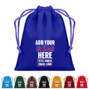 Personalized Velvet Jewelry Drawstring Bags Small Gift Wrap Bags Hessian Bags Jewelry Pouch