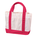 Aspire Small Cotton Canvas Tote Bag, 13 3/4 x 9 1/2 x 4 1/4 inches