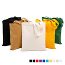 Opromo 12oz Canvas Reusable Grocery Tote Bag, for DIY, Advertising, Promotion, Gift, 14