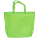 Opromo Reusable Gift / Party / Arts & Crafts Activity Tote Bags,10 Pack, Assorted Color,3 Sizes