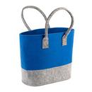 Opromo Felt Tote Bag Reusable Shopping Bag Grocery Tote Bag
