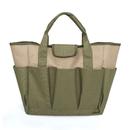 Opromo Garden Tote Bag, Deluxe Gardening Tool Storage Bag with Pockets, Durable & Reusable
