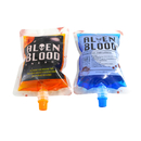 (Price/20 PCS) Aspire 8 OZ Novelty Bags, Blood Bags, Vampire Drink Container, Halloween Party Favors, 8.6mm Spout
