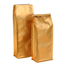 (Price/50 PCS) Aspire 8 OZ Flat Bottom Gusset Bags, Coffee Bags w/Tin Ties, FDA Compliant