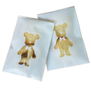 (Price/100 PCS) Lovely Bear Self Adhesive Bakery Bag, Good for Cookie, Bakery, Candy, Biscuit,Christmas Gift
