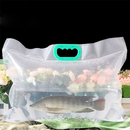 (Price/6 PCS) Collapsible Fish Shipping Bags, Water Container Water Carrier, 7 mil