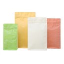 (Price/ 50 PCS) Eco-Friendly Rice Pouch Bags with Zip, (8 OZ, 1 LB, 2LB), 5 mil