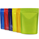 Sample  Aspire Foil Lined Stand Up Pouch w/ Ziplock, 4 OZ to 16 OZ, 5 mil