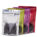 100 PCS Aspire Heat Sealable Dual Shield Clear Front Stand Up Food Pouches Bags, 8 Mil