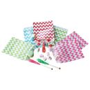 200 PCS Aspire Food Safe Biodegradable Paper Favor Bags/Treat Bag for Party, 7
