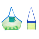 GOGO Mesh Beach Bag Tote Sand Away Toys Shell Bag Swimming Equipment Storage Bag