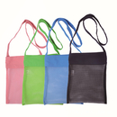 GOGO Mesh Beach Bags Sand Away Beach Treasures Seashell Bags Toys Storage Bags