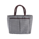 Opromo Reusable Lunch Tote for Women Oxford Cloth Waterproof Insulated Box Handbag Cooler Bag