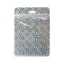 Muka 50 PCS Clear Foil Zip Top Reclosable Poly Bag