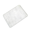 50 PCS Clear/Frosted Zipper Reclosable Bag, 3 1/4
