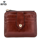 Opromo RFID Blocking Wallet Credit Card Case Holder Slim Wallet With Coin Pocket