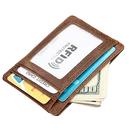 Opromo RFID Blocking Wallet Credit Card Case Holder Slim Wallet With Coin Pocket