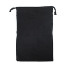 Opromo 100% Cotton Shoe Bag with Drawcord Closure - Set of 6