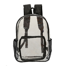 Opromo Clear Backpack See Through Bookbag Stadium Security Transparent Workbag